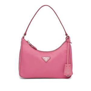 Pink Prada Re-Edition 2005 Nylon Mini Bag